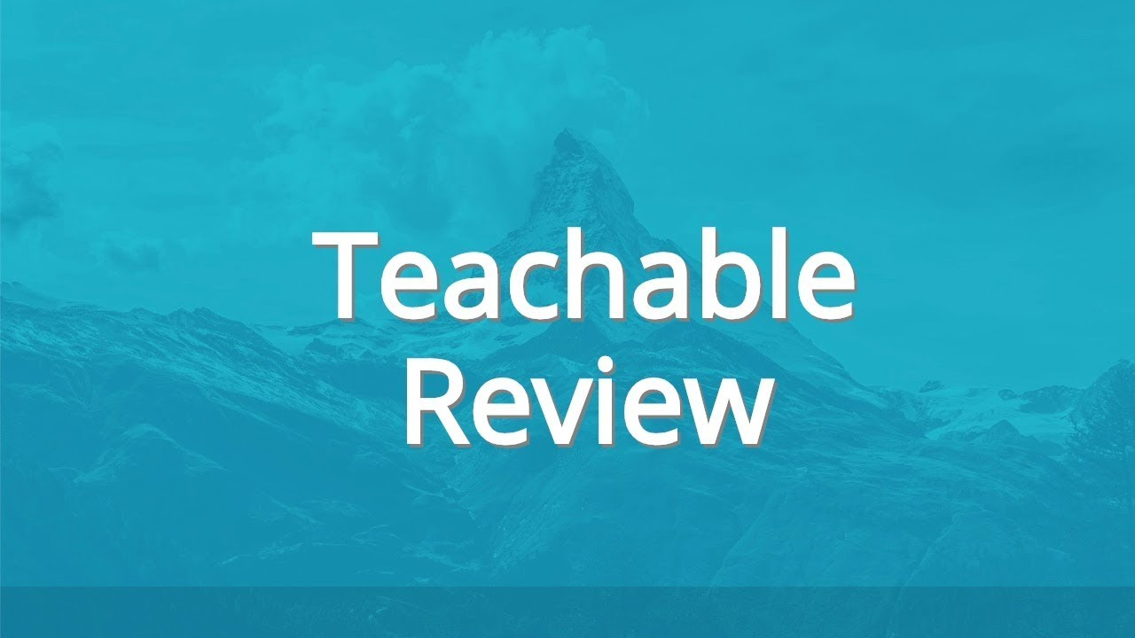 Good Alternative For Teachable  April 2020