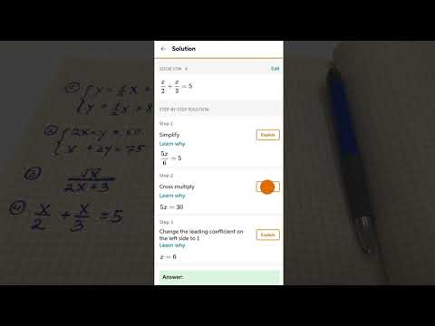 Chegg Math Solver - guided math problem solver – Aplikace na
