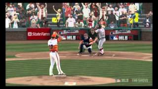 MLB 11 The Show - Nolan Ryan Strikeout Reel (12 K