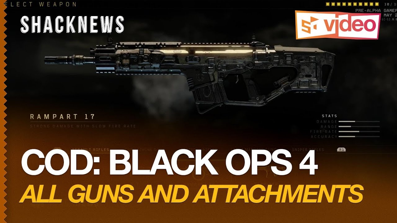 COD: Black Ops 4 - All Guns and Attachments