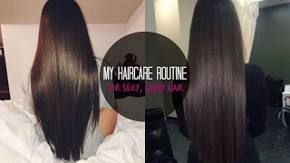 MY HAIRCARE ROUTINE♡ TIPS + SECRETS