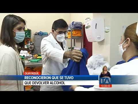 Gerente del Hospital Teodoro Maldonado admitió que hay problemas de abastecimiento