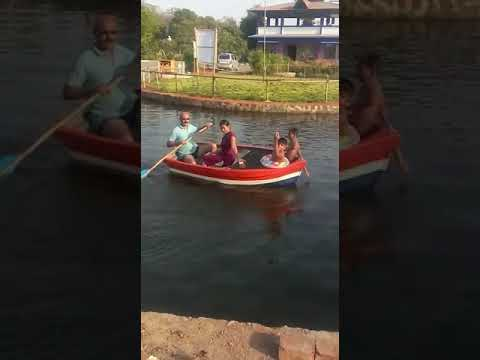Boating with family at Sahyadri Agro Tourism, tawa  (MTDC approved )mobile no.9960883555