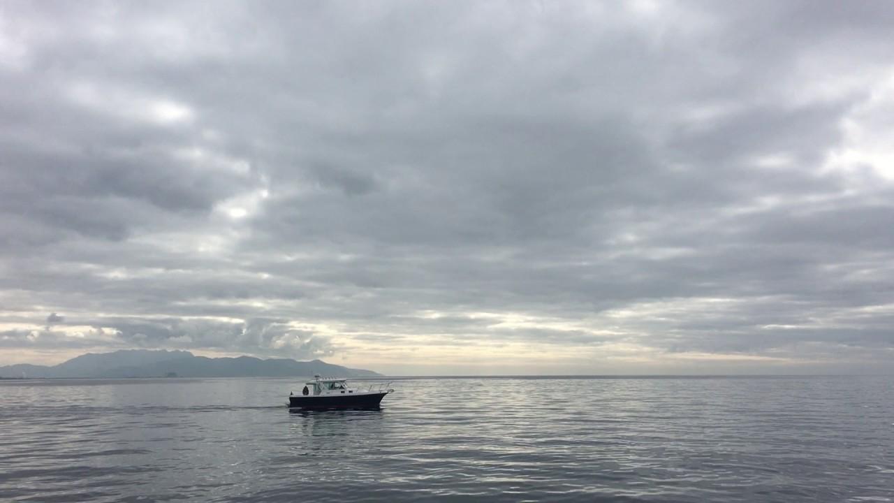 Small Boat Floating On the Ocean - Oxnard California ...