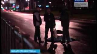 В Купчино насмерть сбили пешехода с собакой