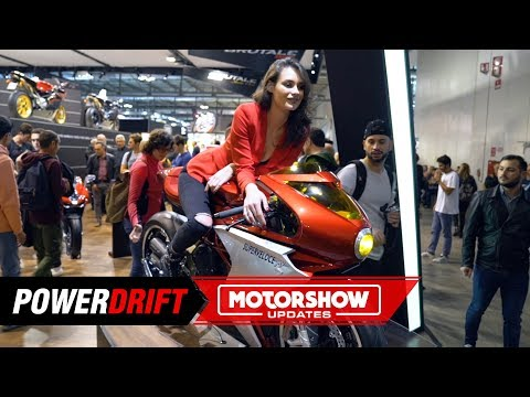 MV Agusta Superveloce  : The future is retro : EICMA  : PowerDrift