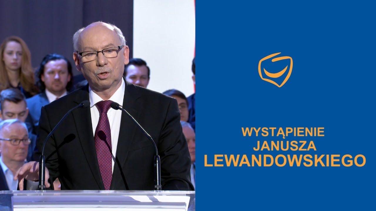 Wystąpienie Janusza Lewandowskiego, Rada Krajowa PO, Warszawa, 24.02.2018