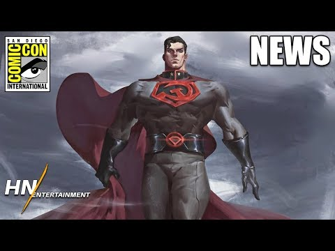 Superman: Red Son & 2 New Animated Movies Officially Announced For DC Universe