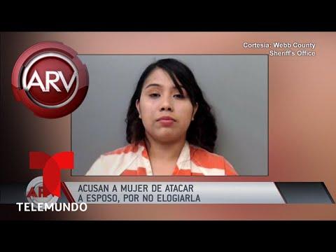Super Martinez - Arrestan a Mujer Por Golpear a su Esposo Por No Decirle que Estaba Bonita