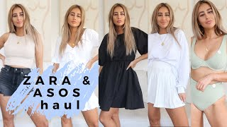 ZARA AND ASOS HAUL + TRY ON