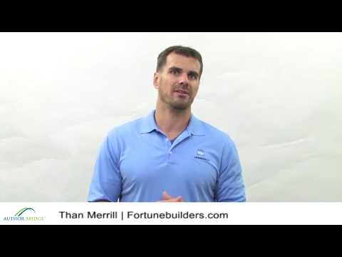 Than Merrill, real estate investor and co-founder of Fortune Builders, praises his book editor