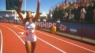 2013 NCAA TRACK & FIELD CHAMPIONSHIPS in EUGENE - BRIANNA ROLLINS of CLEMSON OWNS 110m HURDLES