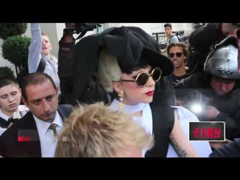 Next TV: Lady Gaga arrives in Taichung, Taiwan for free concert