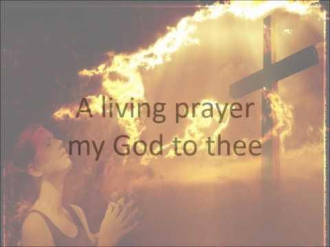 A Living Prayer