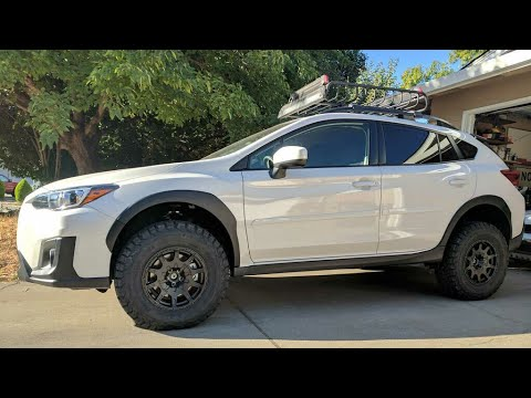 How To Lift A Subaru Crosstrek Youtube