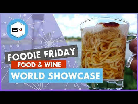 Best New World Showcase Dishes for 2019 Epcot Food & Wine Festival