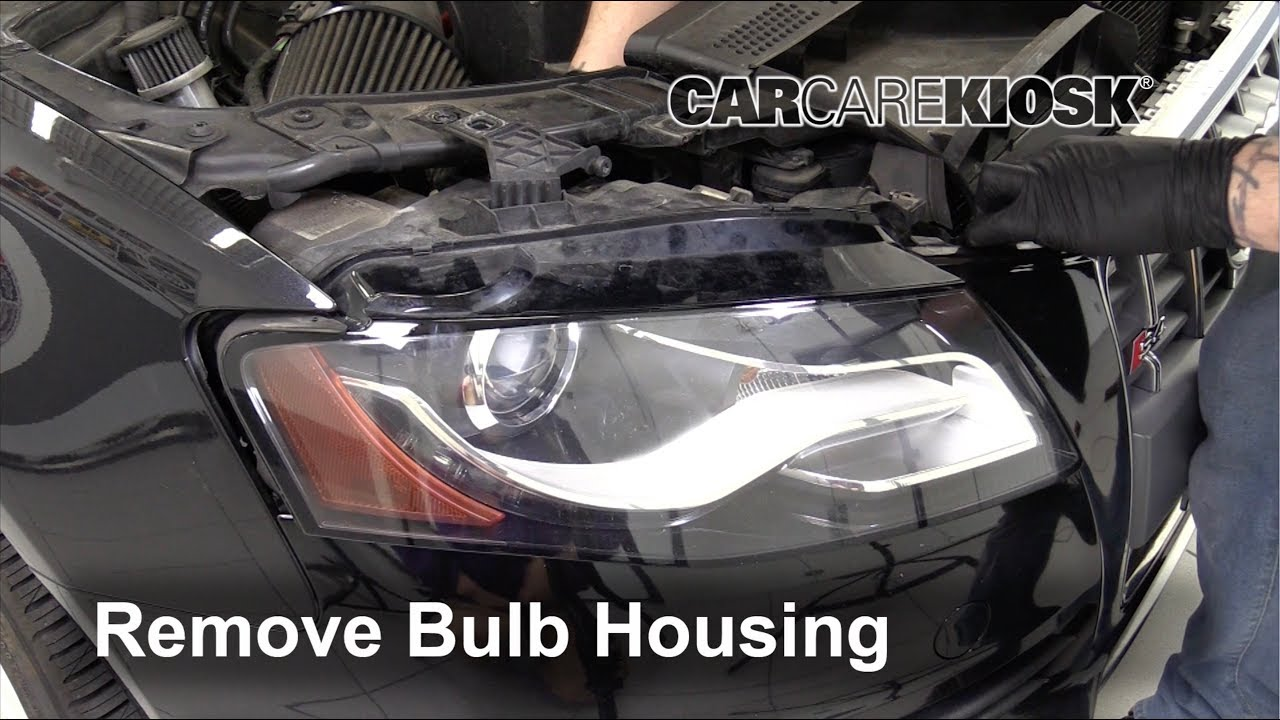 2009 2016 Audi S4 Headlight Housing Removal