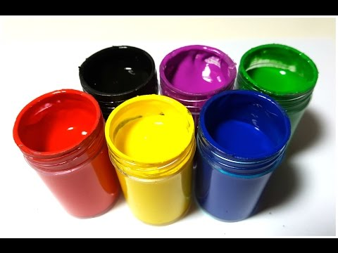 Body Painting Learning Colors Video for Children Finger Family Nursery Rhyme Ingrid Surprise