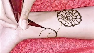 New Floral Mehndi Design for hands 2019