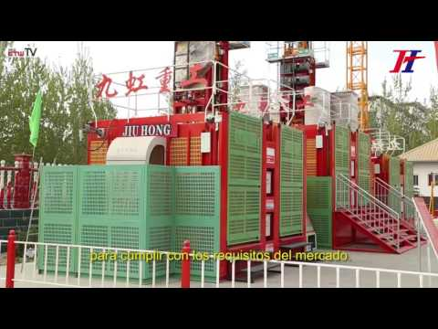 Our group company video in Spanish-Jiuhong Heavy Industry Machinery Co.,Ltd