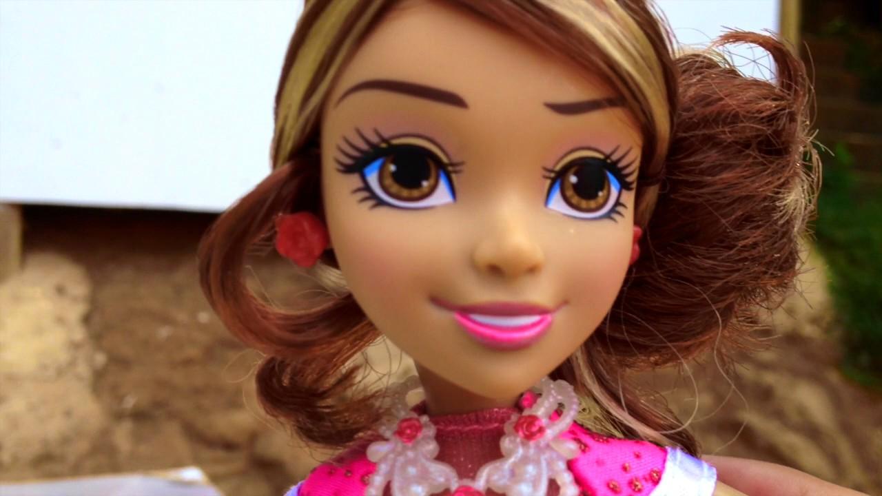 Descendientes Muñeca Audrey Estilo Gala Coronación De Auradon Hija De La Bella Durmiente Youtube
