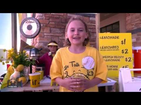 o-CNN: Cowboy News Network - Young Entrepreneurs Doing Lemonade Day in Okotoks, Alberta