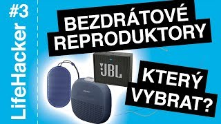 Jaký bezdrátový reproduktor vybrat? JBL GO, Bose Soundlink Micro nebo Beoplay P2? 🎛