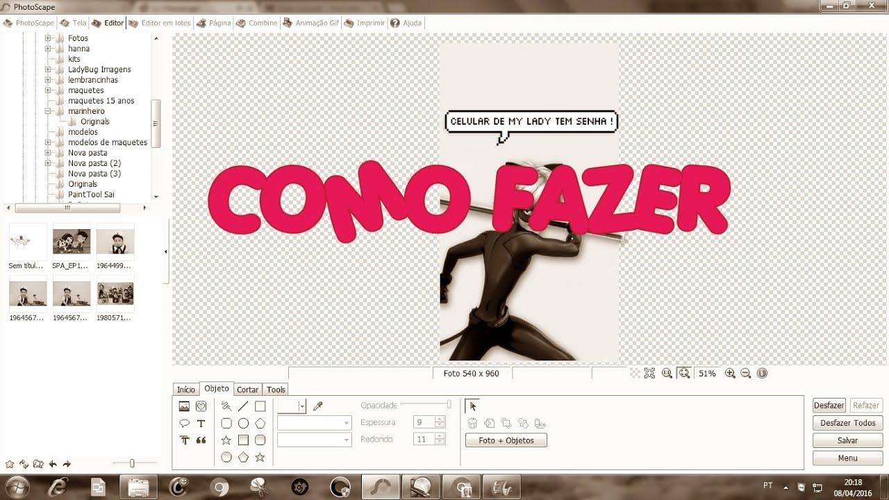 Amado Como fazer Papel de Parede de ML com Balão de fala - YouTube RZ27