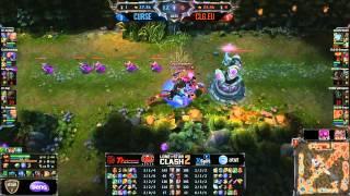 CLG.eu versus Curse.na game 2 (Lone Star Clash 2 finals)