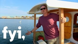 My Floating Home: Steve and Rick's Catamaran Shanty (S1, E6)  | FYI