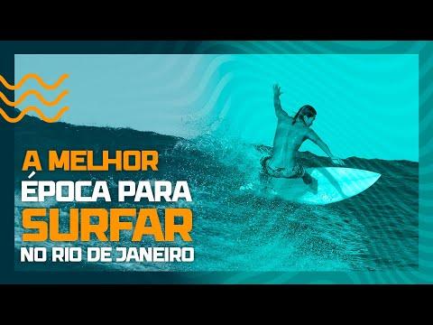 """""""Swell da década"""" faz a festa dos surfistas no Rio de Janeiro"""