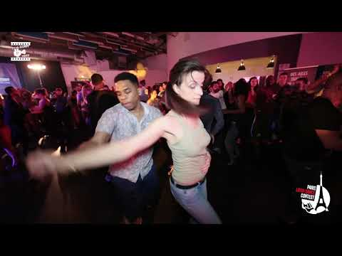 Ludovic & Aude M - Social Dancing @ Int'L Salsa Shines Contest