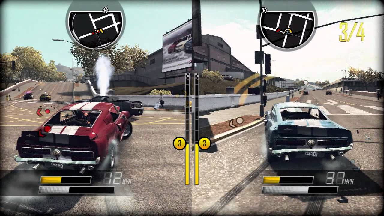 Driver San Francisco Multiplayer Gameplay Trailer Xbox 360 Ps3