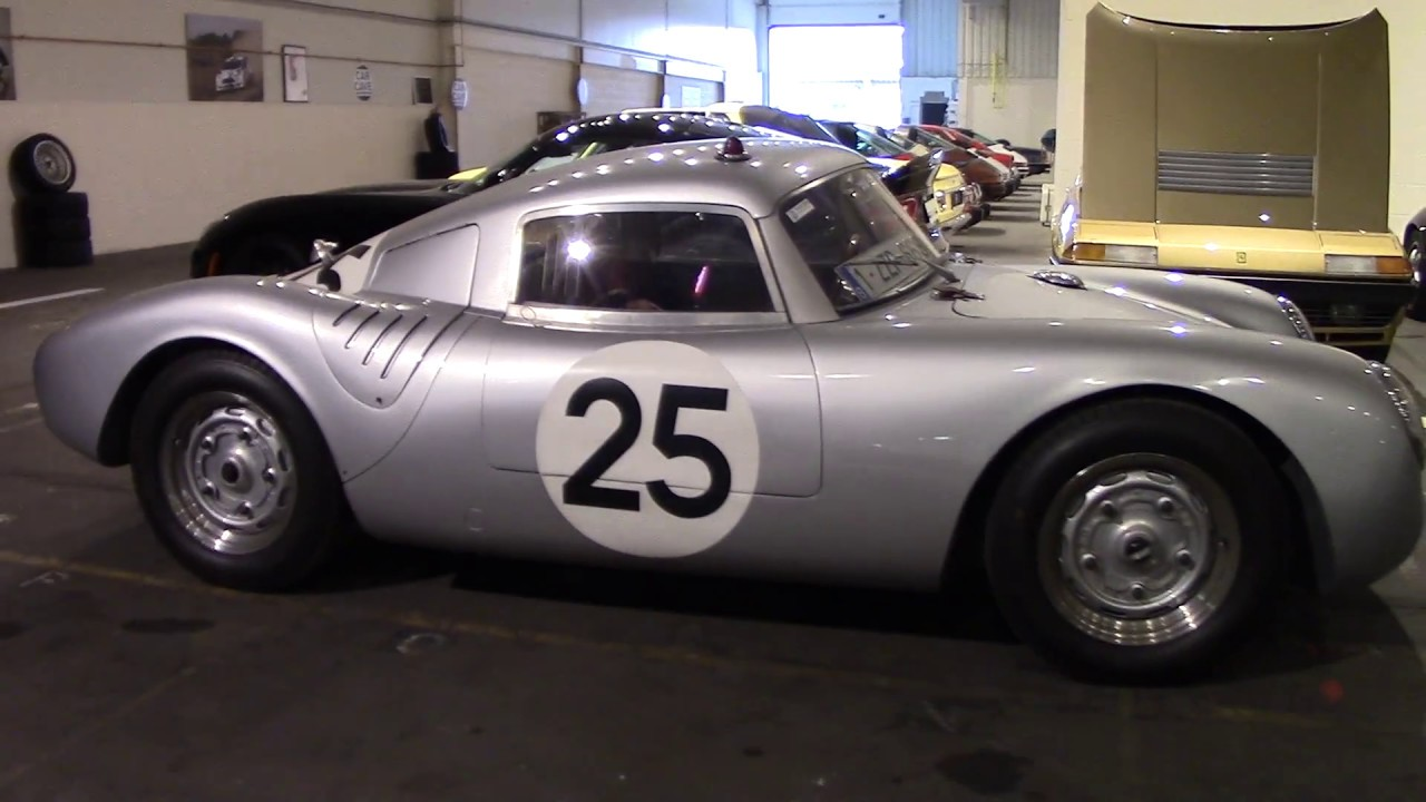 1956 Porsche 550 Coupe At Carcave Hasselt Youtube