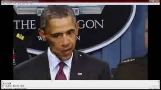 Трансформация лица Обамы