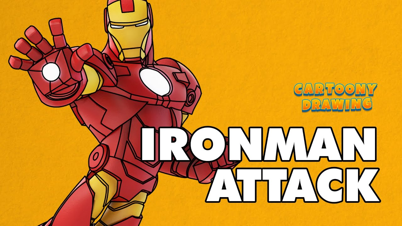iron man how to draw iron man super suit in three minutes