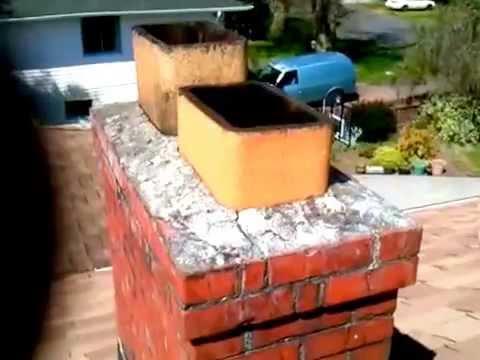 Flue Liner Repair Joint Cracked Mortar Crown Brick