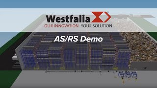 Westfalia AS/RS demo