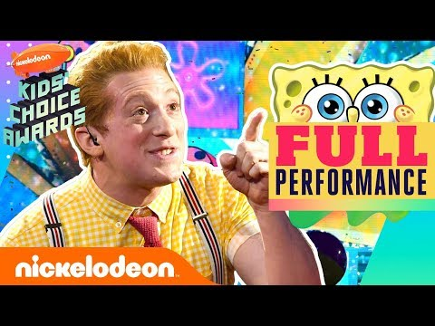SpongeBob the Musical Performs 'Best Day Ever' Theme Song Medley | 2019 Kids' Choice Awards