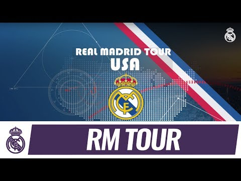 Real Madrid C.F. Tour 2017 is coming to the USA!