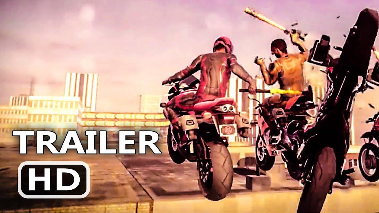 PS4 - Road Redemption Trailer (2018)