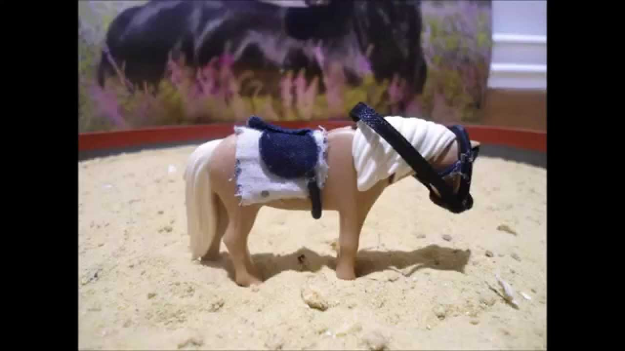 mes crations pour chevaux playmobil youtube