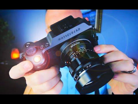 Hasselblad X1DII with Leica M Mount Lenses! Medium Format F/1.4 Bokeh Magic!