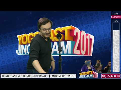 Karaoke stream with Zylus and friends - Yogscast Jingle Jam 2017 | 16th of December