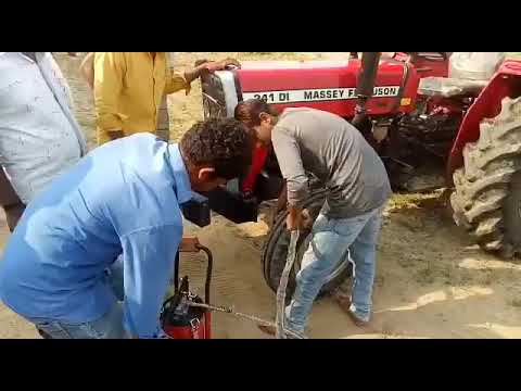 Massey Ferguson 241 /Grease Gun By Tafe/Comments For Online Booking