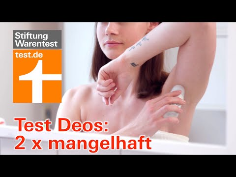 ed563b4da0d64c Deo-Test 2019 Stiftung Warentest - So testen wir Deos ...