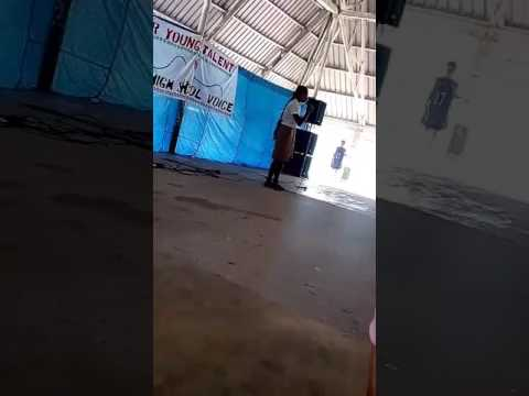 JSS Student - Singing 2017 Kiribati Island