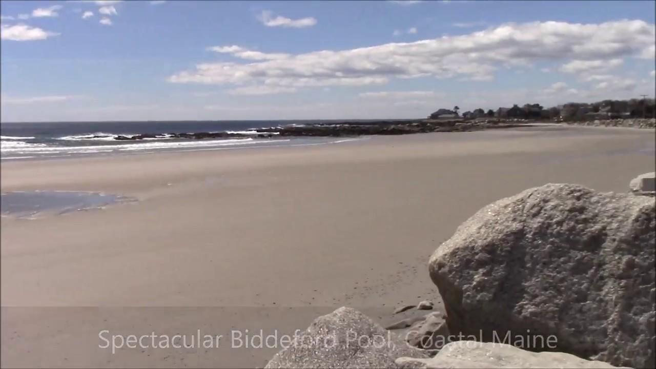 Spectacular Biddeford Pool Coastal Maine Usa Youtube