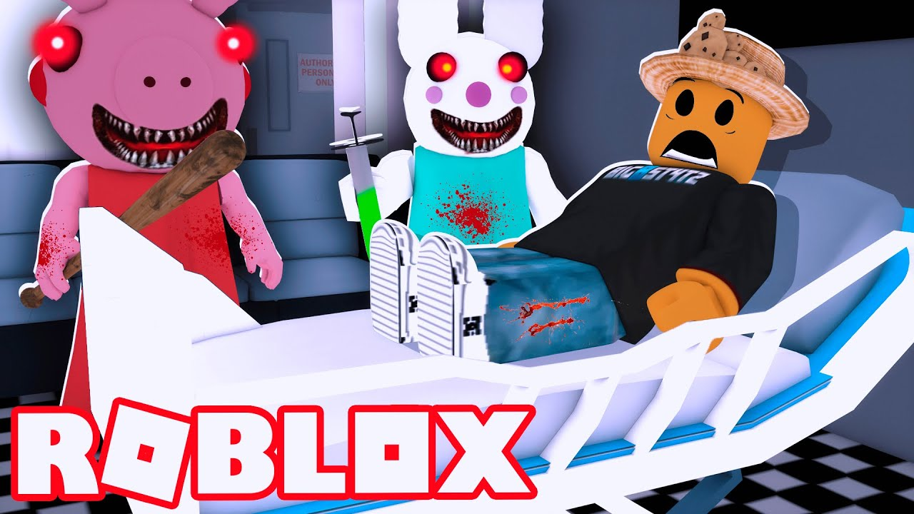 I Don T Know If I Can Win This Roblox Escape The Amazing - Piggy Chapter 6 In The Hospital Roblox Piggy Youtube