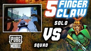 5 FINGERS HANDCAM   SOLO VS. SQUAD